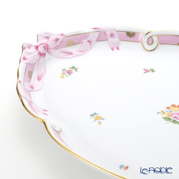 ヘレンド ローズチューリップ ピンク RTFP 20400-0-00パーティートレイ 38cm