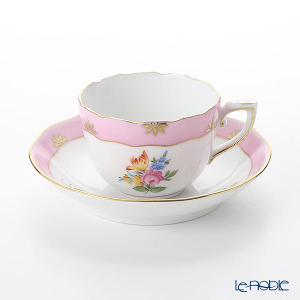 ヘレンド ローズチューリップ ピンク RTFP 20711-0-00 モカカップ&ソーサー 100cc
