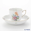 Herend Sachs bouquet BS-6 00707-0-00 Mocha Cup & Saucer 150 cc