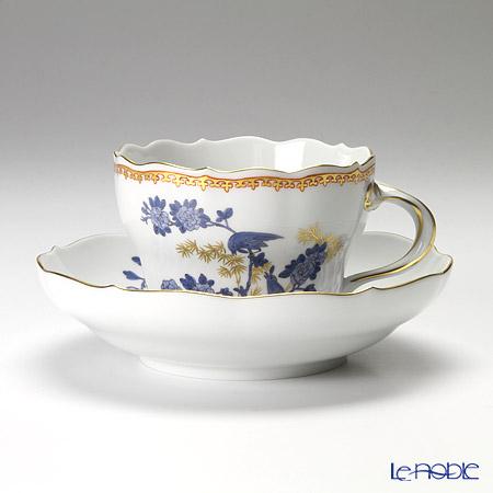 マイセン(Meissen) インドの鳥と金の竹 570110/00582 コーヒーカップ&ソーサー 200cc