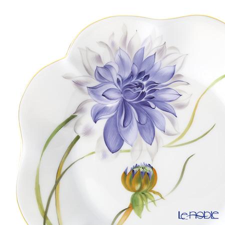 ヘレンド ダリア DAHLIA2 04745-0-00プレート 19cm(ブルー)
