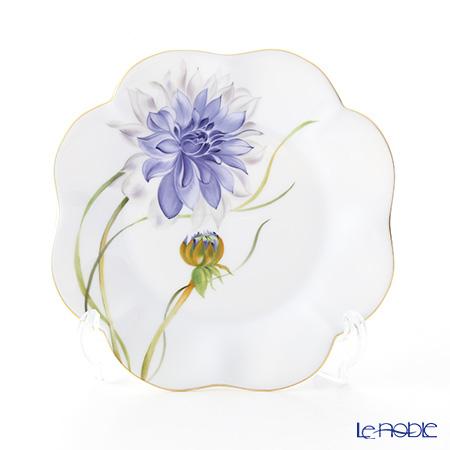 ヘレンド ダリア DAHLIA2 04745-0-00 プレート 19cm(ブルー)