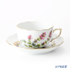 Herend 'PLMP-3' 20724-0-00 Tea Cup & Saucer 200ml
