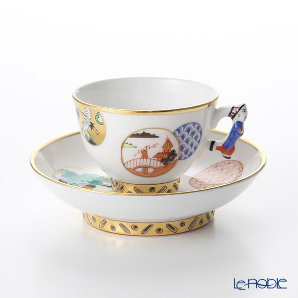 ヘレンド 昔話 CON 03371-021 スモールカップ&ソーサー