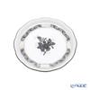 ヘレンド アポニーブラックプラチナ ANG-PTプレート 10cm/小皿/豆皿 00341-0-00