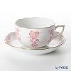 Herend 'Cherry Flower' Pink FKT-1 20724-0-00 Tea Cup & Saucer 200ml