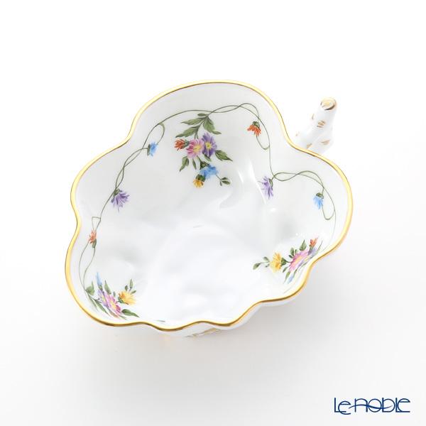 Herend Imola Multi-Color IAVT 00492-0-00 Sugar Bowl (Leaf shape) 9.5cm