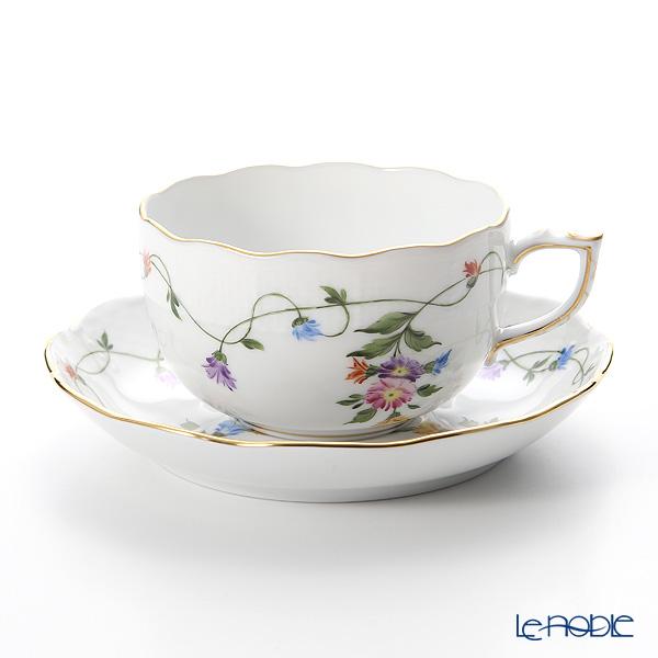 ヘレンド イモラ多彩 IAVT 00724-0-00 ティーカップ&ソーサー 200cc