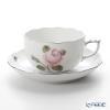 ヘレンド ウィーンのバラ プラチナ 00724-0-00ティーカップ&ソーサー 200cc