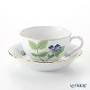 Herend herb garden (Inglaze) Tea Cup & Saucer 215 cc