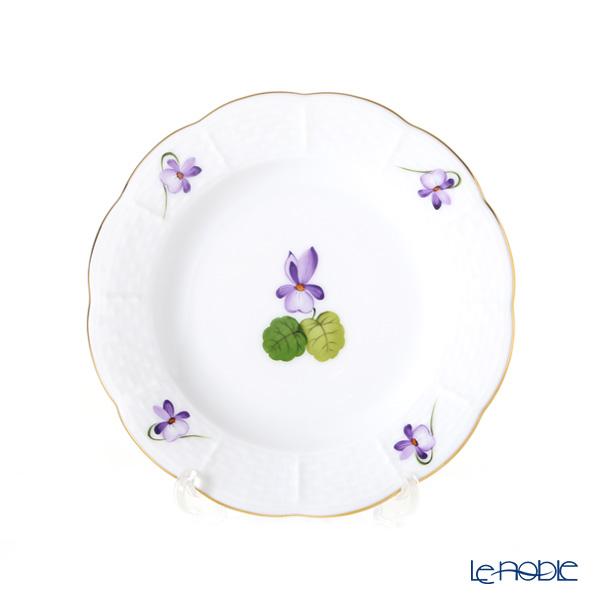 ヘレンド バイオレット(ゴールド) VIOLET 00512-0-00 プレート 12.5cm 小皿