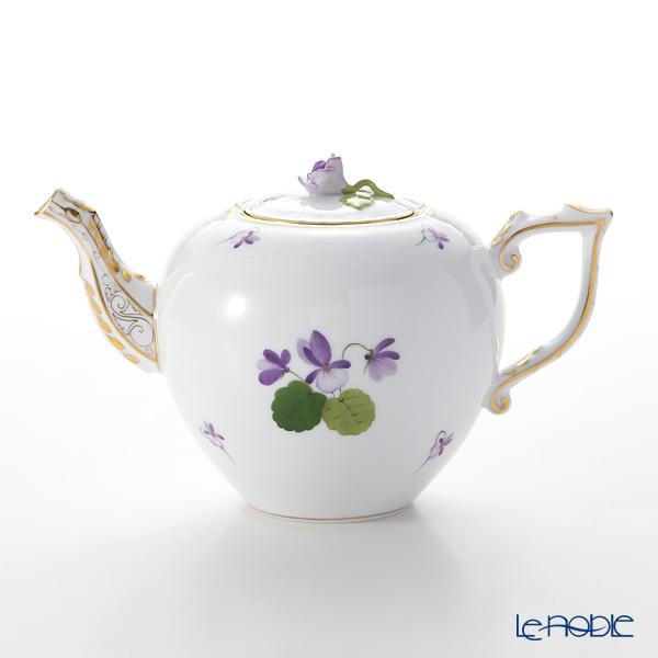 Herend 'Sisi Violet' Gold VIOLET 00606-0-09 Tea Pot (Rose knob) 800ml