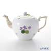 Herend Violet Sisi Anniversary 1 Teapot 800 cc, rose knob, VIOLET 00606-0-09