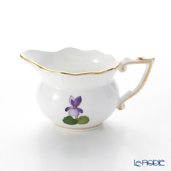 Herend Violet Sisi Anniversary 1 Creamer 80 cc, VIOLET 00645-0-00
