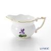 Herend 'Sisi Violet' Gold VIOLET 00645-0-00 Creamer 80ml