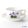 Herend Violet Sisi Anniversary Tea Cup & Saucer 200 cc, VIOLET 00724-0-00