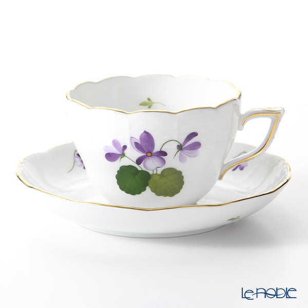 Herend Sisi Violet Gold VIOLET 00730-0-00 Tea / Coffee Cup (combined) & Saucer 200ml