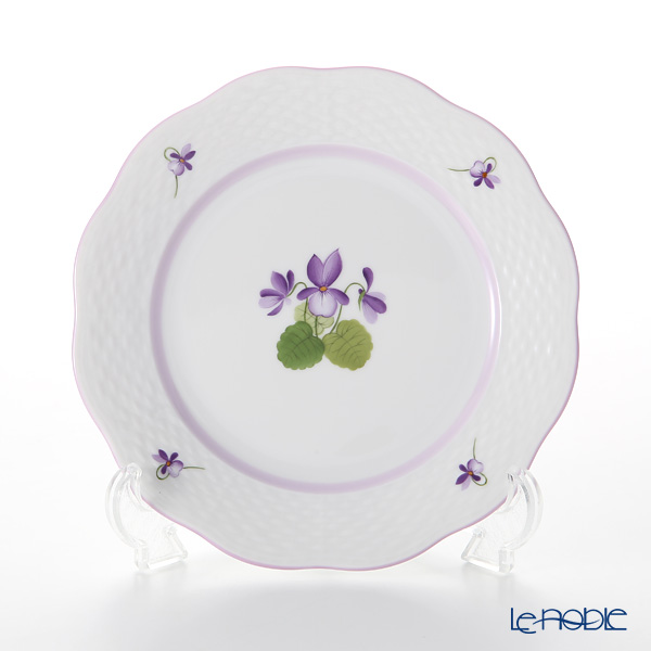 Herend Violet Sisi Edition Dessert Plate 19 cm, VIOLETL 00517-0-00