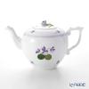 Herend Violet Sisi Edition Teapot 800 cc, rose knob, VIOLETL 00606-0-09