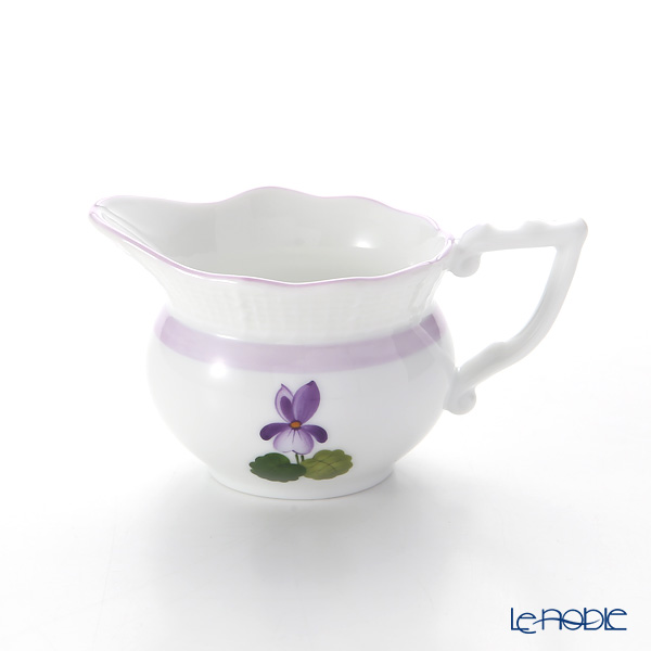 Herend 'Sisi Violet' Lilac VIOLETL 00645-0-00 Creamer 80ml