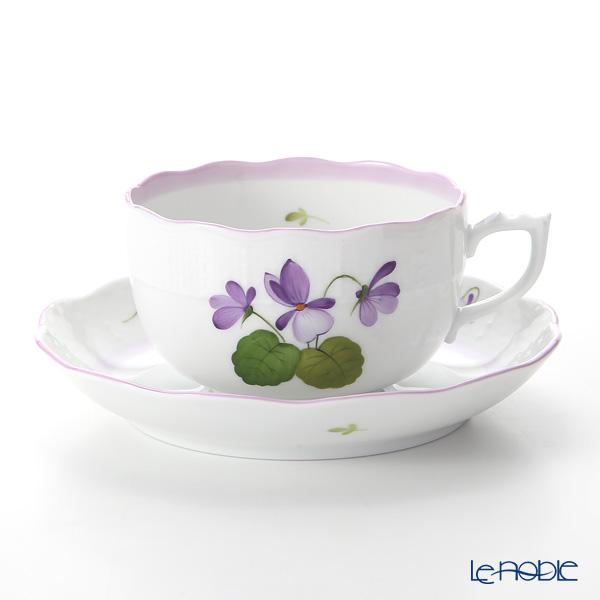 Herend 'Sisi Violet' Lilac VIOLETL 00724-0-00 Tea Cup & Saucer 200ml