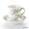 Herend floral CD-X1 04288-0-66 Tea Cup & Saucer