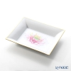 Herend Herbal Flower HERB3 07631-0-00 (LE100) Square Tray 19x16cm