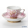 Herend Eastern paradise pink and ZOPA 03364-0-21 Raja Cup & Saucer