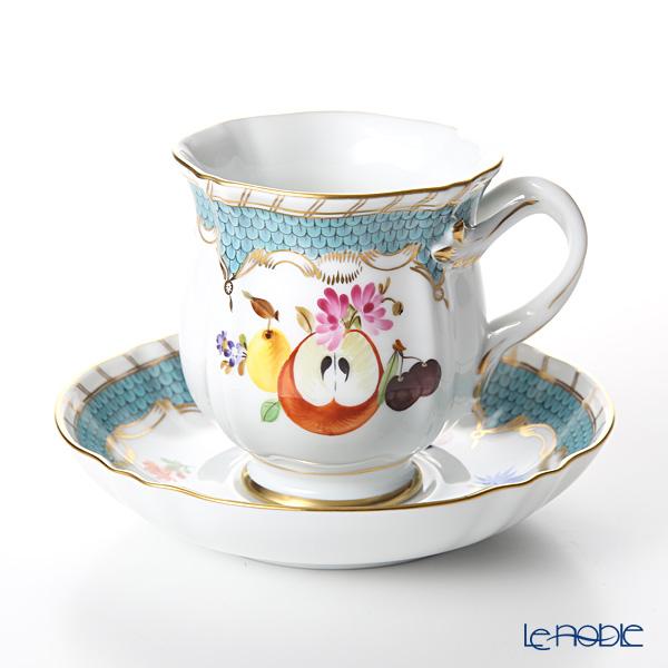 ヘレンド フルーツコンポジション CFR-ET-10 04228-0-00 コーヒーカップ&ソーサー 200cc