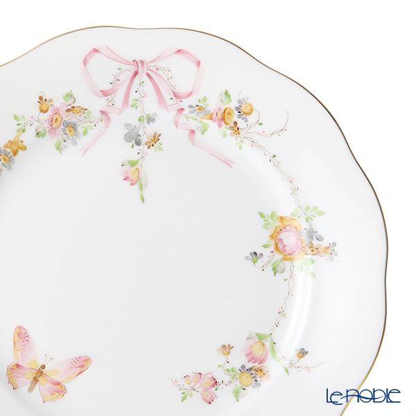 Herend 'Eden (Flower Ribbon Butterfly)' Pink EDENP 20517-0-00 Plate 19cm