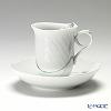 Meissen 'Woodland Flora' 614501/29582 Coffee Cup & Saucer 200ml