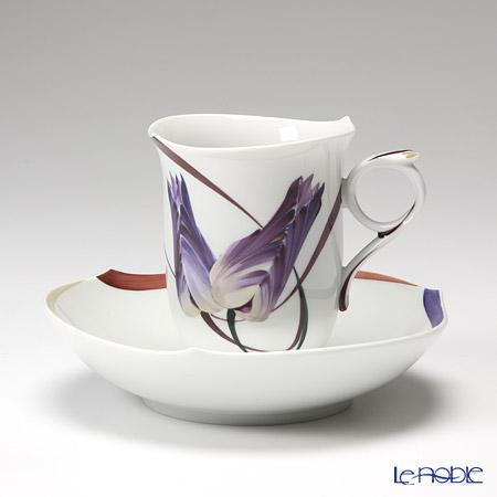 マイセン(Meissen) ユーゲント 614601/28582 コーヒーカップ&ソーサー 180cc