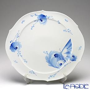 マイセン(Meissen) 青い花 614701/28511ラウンドプラター 38.5cm