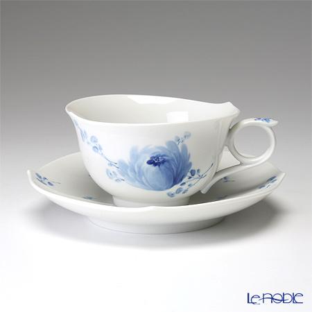 マイセン(Meissen) 青い花 614701/28633 ティーカップ&ソーサー 170cc