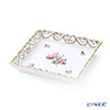 Herend 'Rose Garland Bouquet' GRB 07507-0-00 Square Dish (openwork) 15.5x15.5cm