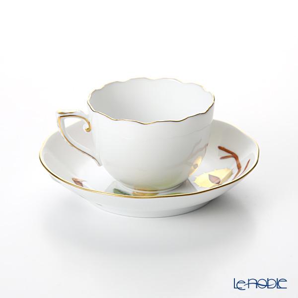 Herend Chestnut MARRON 20711-0-00 Mocha Cup & Saucer 100ml