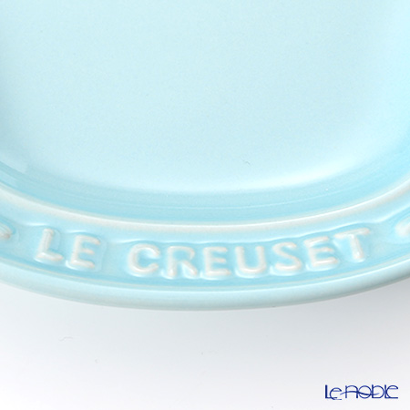 Le Creuset 'Baby - Bear' Pastel Blue [Stoneware] Plate (set of 2 size)