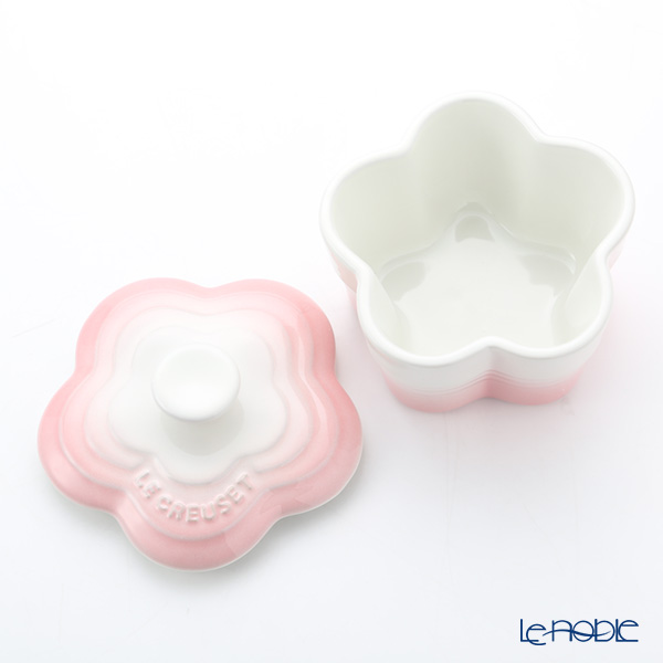 Le Creuset 'Petite Flower' Chiffon Pink [Stoneware] Ramekin Bowl 11cm