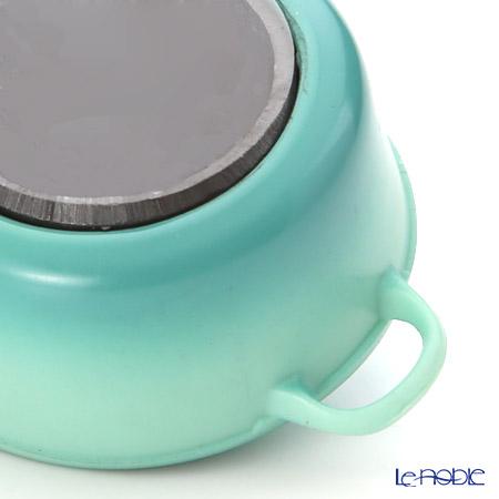 ル・クルーゼ(LeCreuset) マグネットビーチカラー2色 グリーン2個+ブルー2個 計4個セット