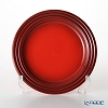 Le Creuset Salad Plate 22 cm, red, stoneware