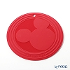 Le Creuset (LeCreuset) trivett (pot stand) Mickey Mouse 20 cm Cherry Red silicone Mickey 90th anniversary design