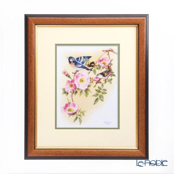 ヘレンド BIRDS-1 08112-0-91 陶板 20×15cm