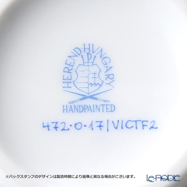 ヘレンド パステルヴィクトリア VICTF2 00472-0-17(フラワー)シュガーポット(チョウ) 200cc