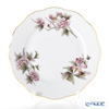 Herend 'Royal Garden Flower Dark Pink & Brown / Email Victoria'  VICTP2 00517-0-00 Plate 19cm