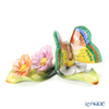 Herend 'Butterfly on Flowers' CD-EDF 09316-0-00 Figurine H3.5cm