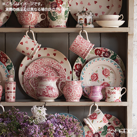 Emma Bridgewater / Earthenware 'Pink Hearts' Mug 284ml