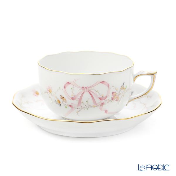 ヘレンド エデンピンク シンプル EDENSP-2 ティーカップ&ソーサー 200ml 20724-0-00
