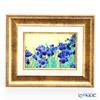 Enamel Cloisonne / Kyoto Shippo Art 'Rabbitear Iris' Panel / Plaque 25x20.5cm