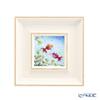 Enamel Cloisonne / Kyoto Shippo Art 'Goldfish' Panel / Plaque 17.5x17.5cm