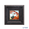 Enamel Cloisonne / Kyoto Shippo Art 'Kyoto Shin nyo-do / Autumn Leaves' Panel / Plaque 17x17cm